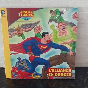 2/$10 Book French -Justice League french storybook